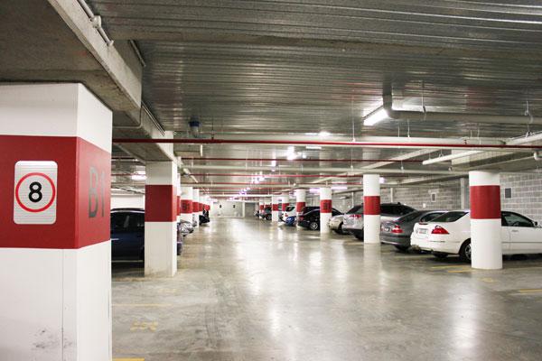 Carpark Concrete Sealing