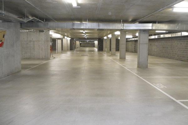 concrete carpark sealing
